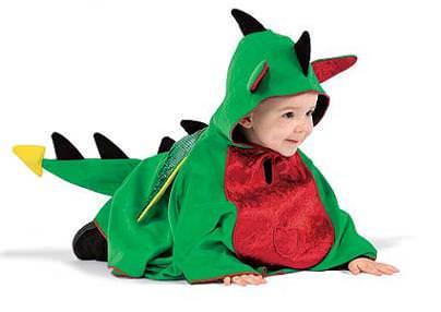dinosaurio, disfraces de bebes