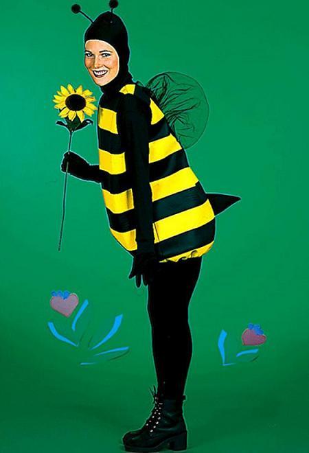 Disfraces fáciles, abeja