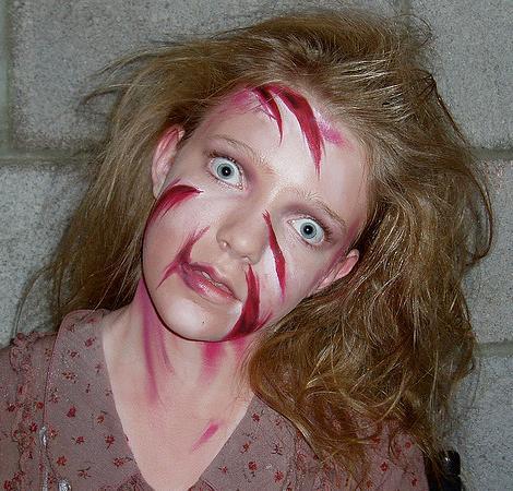 Maquillaje de Halloween (tutoriales)