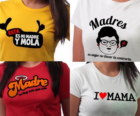 Regalos día de la madre: camisetas