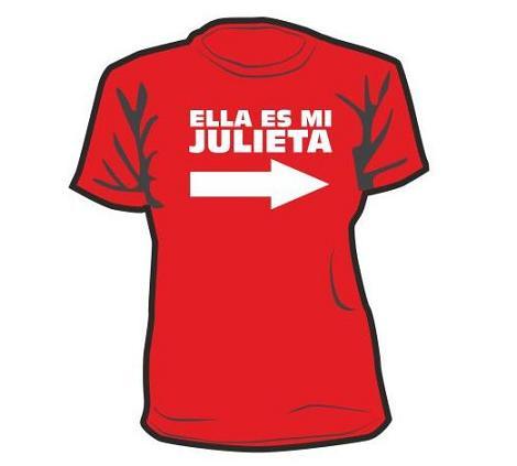 Camisetas San Valentín