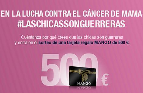 Las chicas son guerreras contra el cáncer de mama