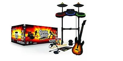 Super Bundle Guitar Hero World Tour Blu-ray