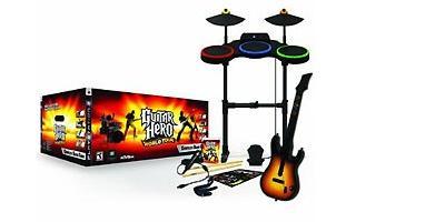Super Bundle Guitar Hero World Tour Blu-ray