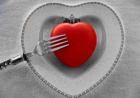 Cena especial para San Valentín