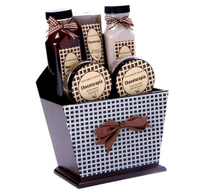 cesta chocolaterapia de REGALOORIGINAL.COM