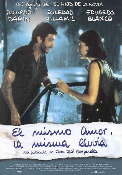el mismo amor la misma lluvia