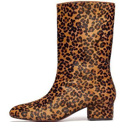 botines de leopardo de bimba&lola