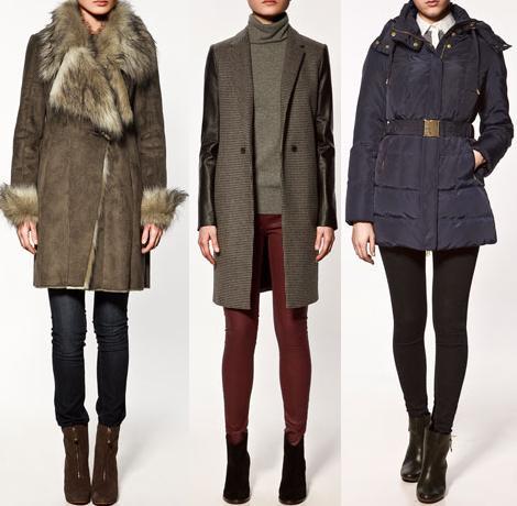 Rebajas de Zara 2012: abrigos