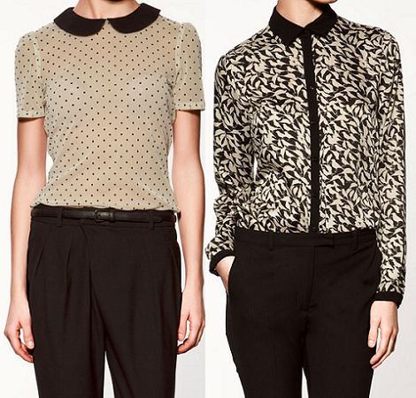 Rebajas de Zara 2012: camisas