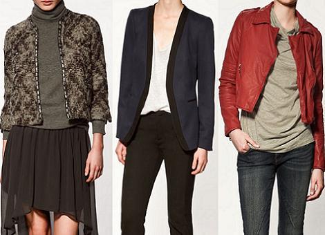 Rebajas de Zara 2012: chaquetas y cazadoras