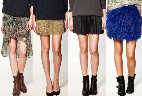Rebajas de Zara 2012: faldas