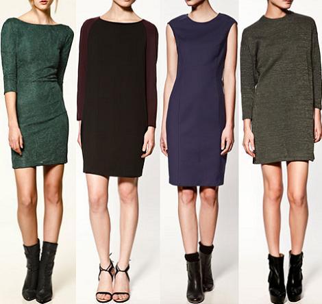 Rebajas de Zara 2012: vestidos