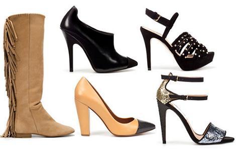 Rebajas de Zara 2012: zapatos