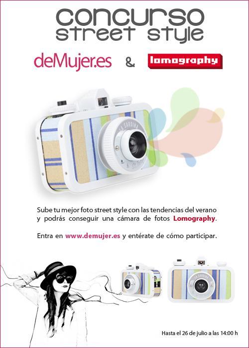 Concurso street style de deMujer.es con Lomography