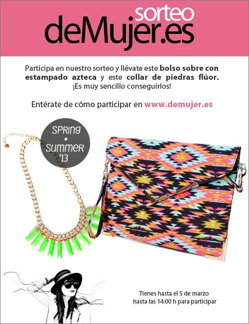 Sorteo accesorios moda primavera verano 2013