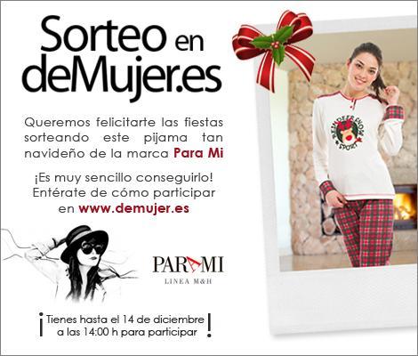 Sorteo pijama navideño de Para Mi